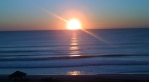 Sunrise at Wrightsville Beach.